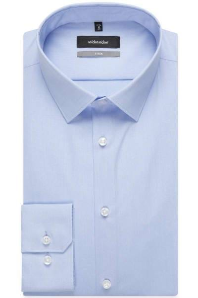 Seidensticker Hemd - X-Slim - hellblau, Einfarbig