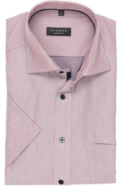 pretty nice bdc26 e2f86 ETERNA Comfort Fit shirt claret, Patterned
