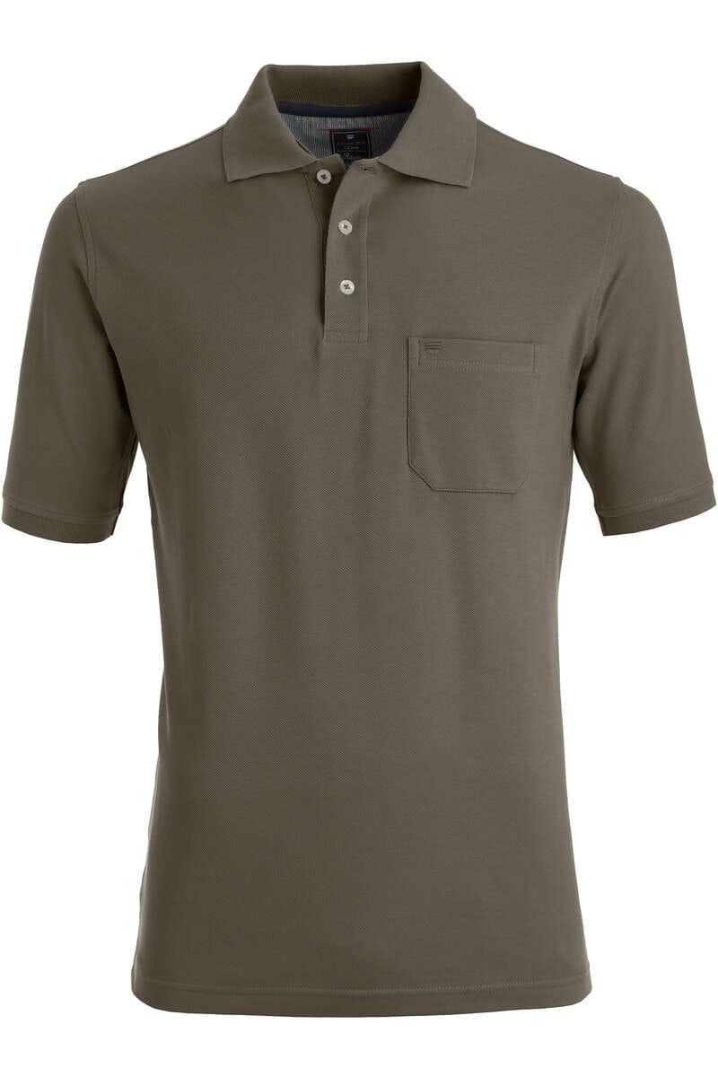 Redmond Poloshirt grün, Einfarbig S