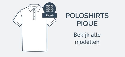 Pique Poloshirts