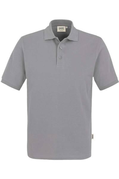 HAKRO Regular Fit Poloshirt grau, Einfarbig