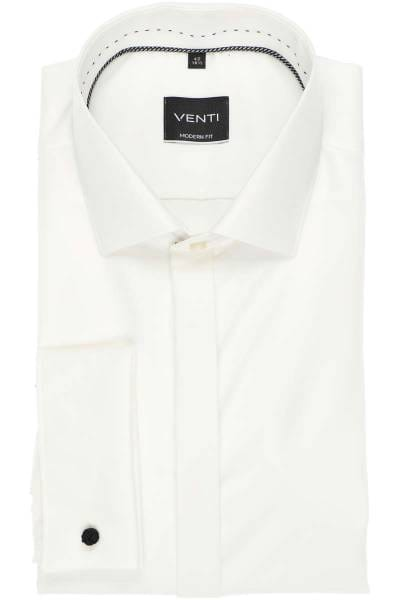 Venti Hemd - Evening - Slim Fit - champagner, Einfarbig