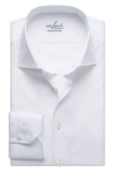 van Laack Hemd - Tailor Fit - weiss, Einfarbig