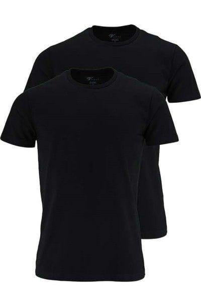 Venti T-Shirt - Rundhals - schwarz, Einfarbig