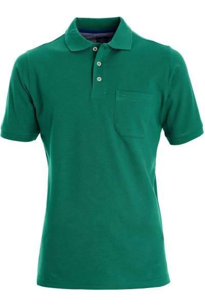 Redmond Casual Poloshirt grün, Einfarbig