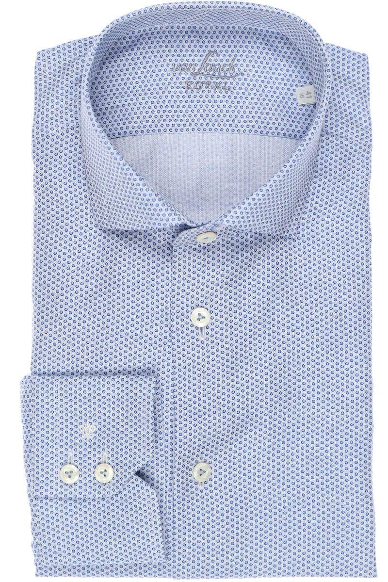 Van Laack Tailor Fit Hemd blau, Gemustert 41 - L