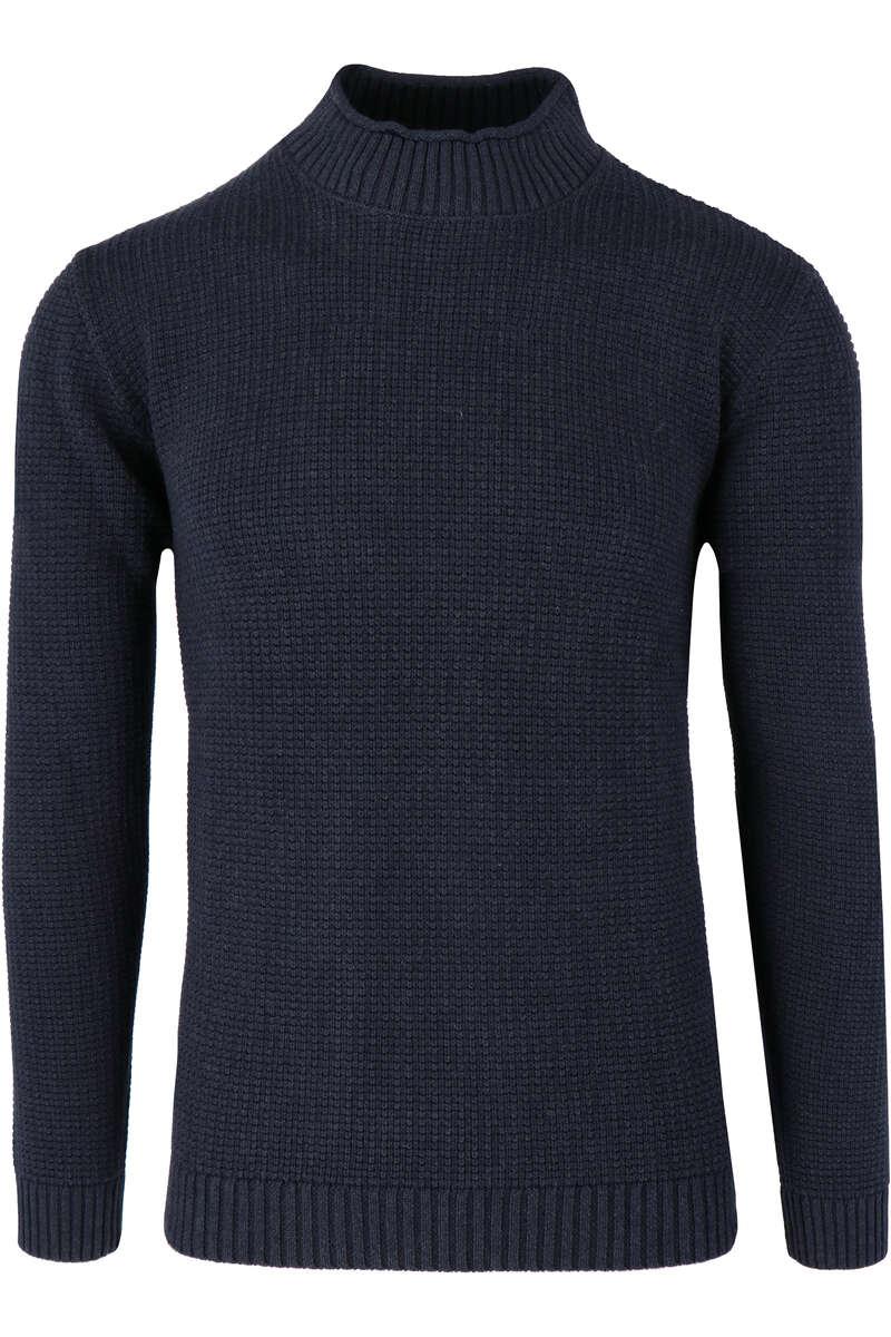 Redmond Regular Fit Rollkragenpullover blau, einfarbig S