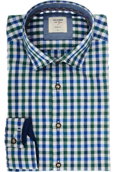 Hochwertiges OLYMP Level Five Body Fit Trachtenhemd in der Farbe ... a45f1d09c2