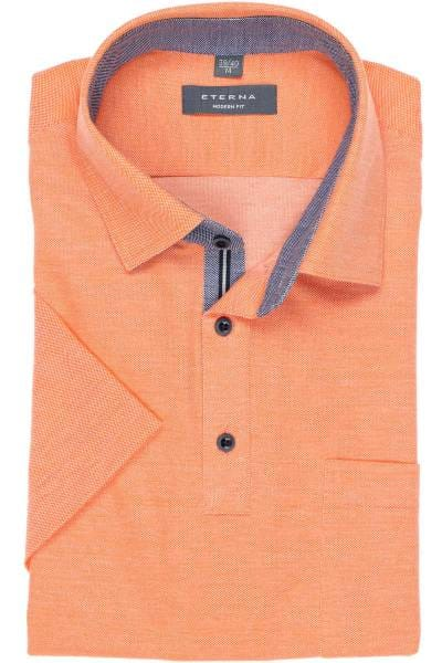 ETERNA Modern Fit Poloshirt orange, Einfarbig
