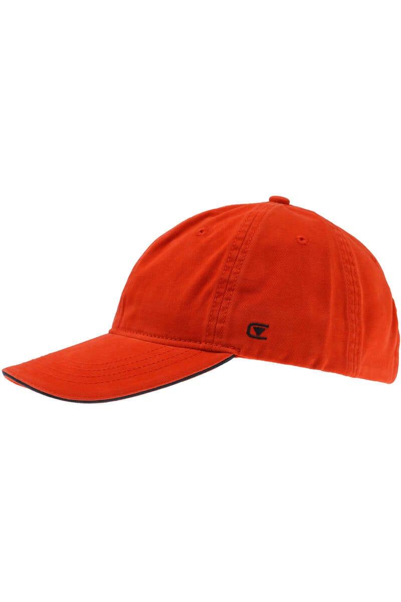Casa Moda Baseballcap orange, Einfarbig