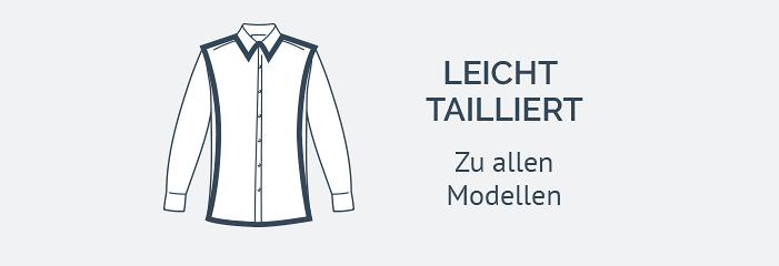 Modern Fit Hemden mit Button-Down Kragen