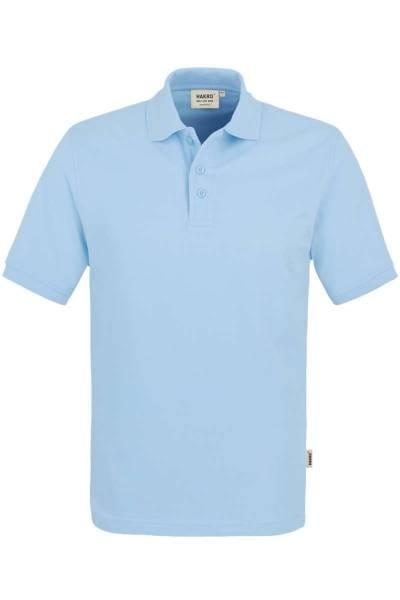 HAKRO Regular Fit Poloshirt eisblau, Einfarbig