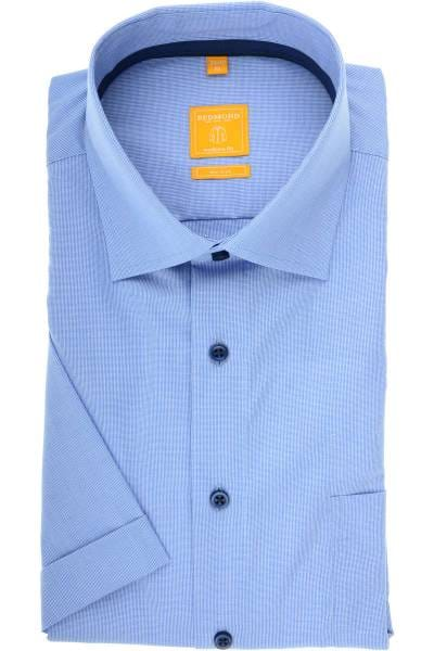 promo code 4c622 17f03 Redmond Modern Fit Hemd blau, Faux-uni