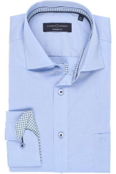 Casa Moda Modern Fit Hemd hellblau, Einfarbig