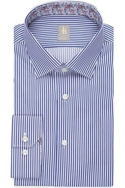 Hochwertiges Jacques Britt Custom Fit Hemd in der Farbe dunkelblau ... 75971fff74