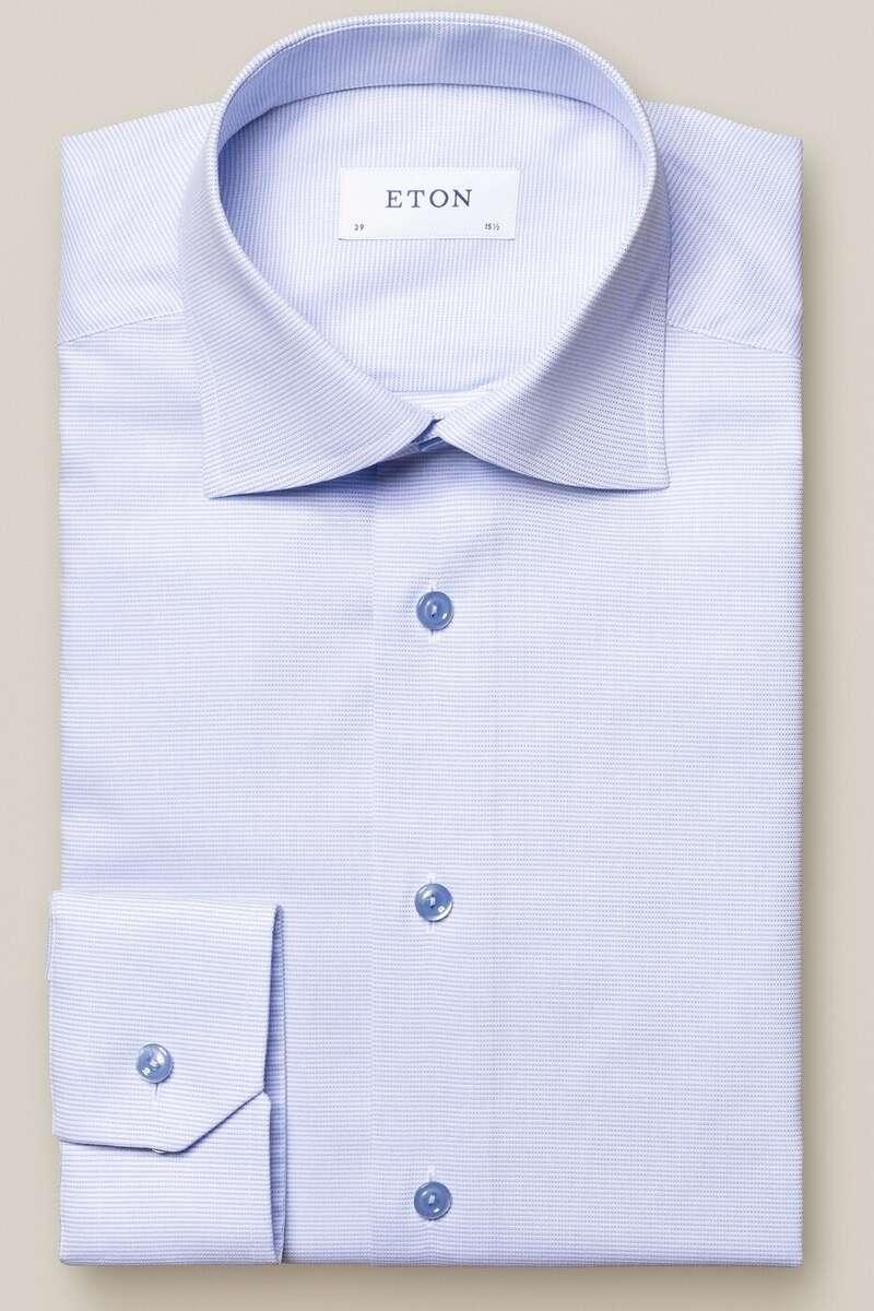 ETON Contemporary Fit Hemd blau, Einfarbig 40 - M