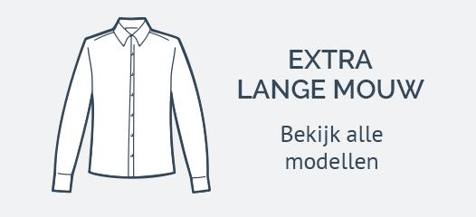 Extra lange Mouw Overhemden