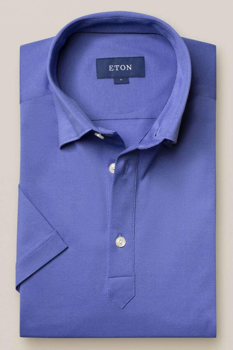ETON Contemporary Fit Poloshirt kornblume, Einfarbig M