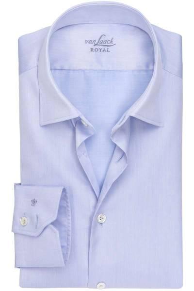 van Laack Tailor Fit Hemd blau, Einfarbig