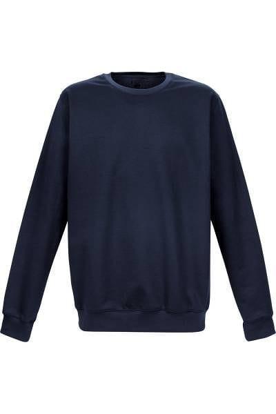 TRIGEMA Strick - Sweatshirt - dunkelblau