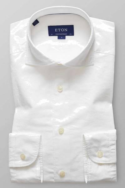 ETON Contemporary fit Hemd weiss, Einfarbig