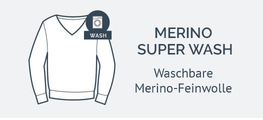 MAERZ Pullover Merino Superwash