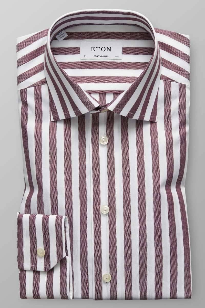 Gestreiftes Hemd Umschlagmanschette | Eton Shirts Deutschland