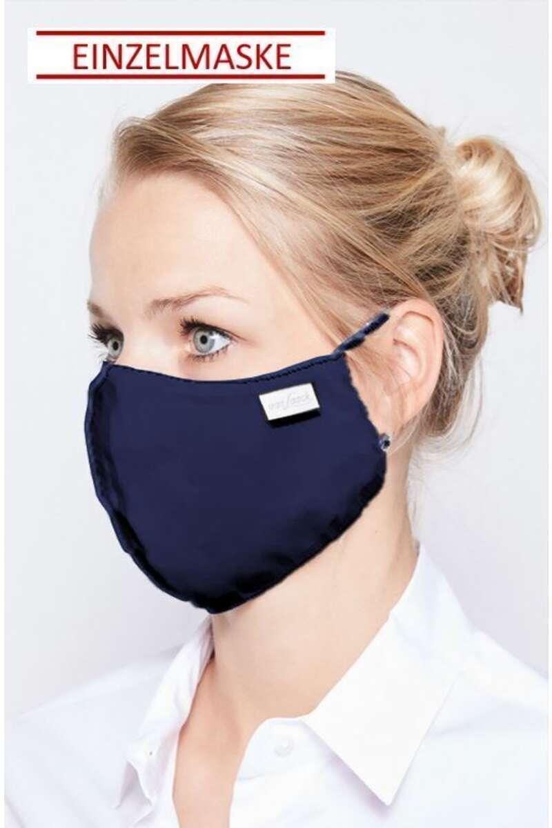 van Laack Mund-Nasen-Maske navy (Einzelmaske)