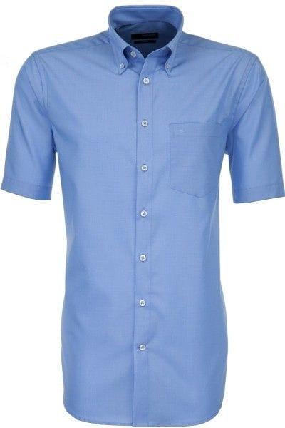 Seidensticker Hemd - Modern Fit - mittelblau, Einfarbig