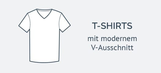 T-Shirts V-Neck Herren - Mood