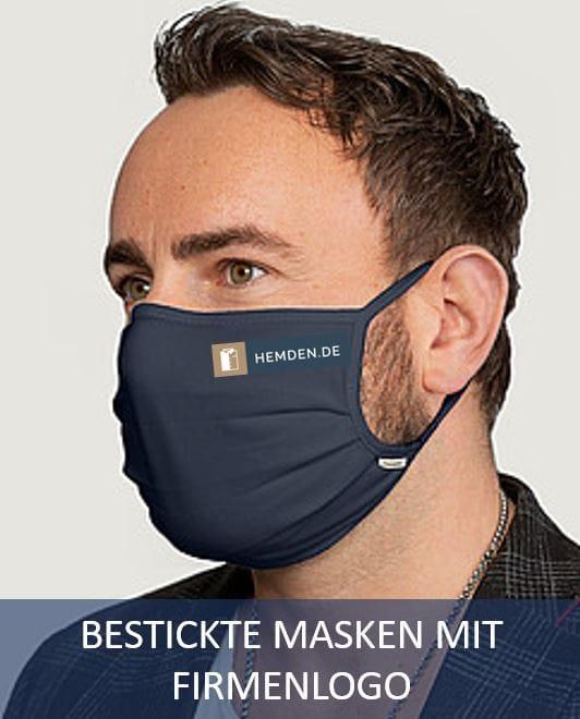 Mundschutzmasken mit Logo