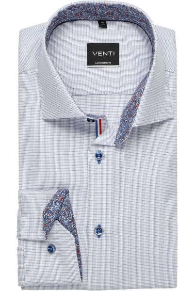 Venti 172815600 Uninahes Herren Hemd mit Kent Kragen Slim Fit