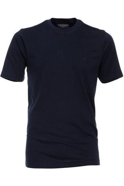 Casa Moda T-Shirt - Rundhals - dunkelblau, Einfarbig