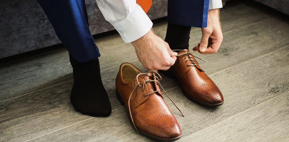 Men's business socks mood