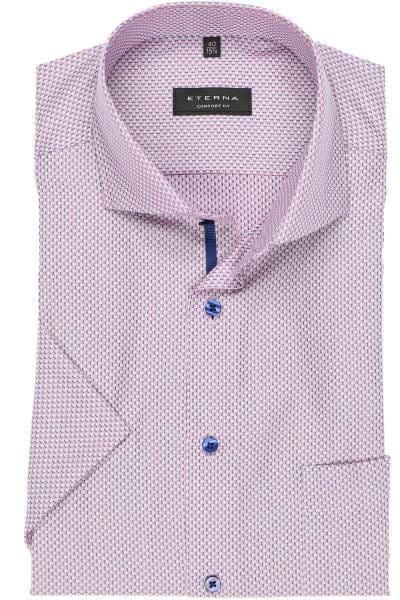 the latest 7c89a 7749c Eterna Comfort Fit shirt dark blue, Textured
