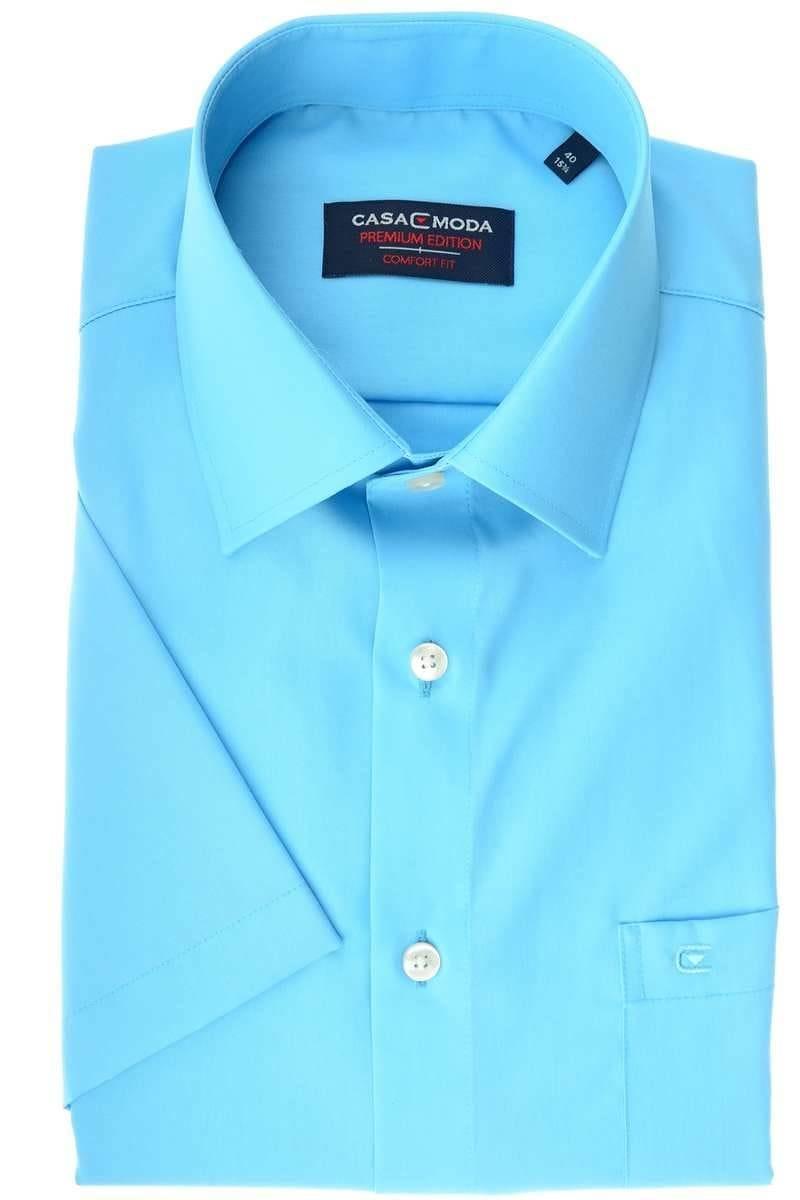Casa Moda Comfort Fit Hemd sky, Einfarbig