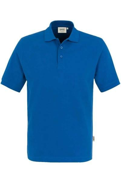 HAKRO Regular Fit Poloshirt royal, Einfarbig