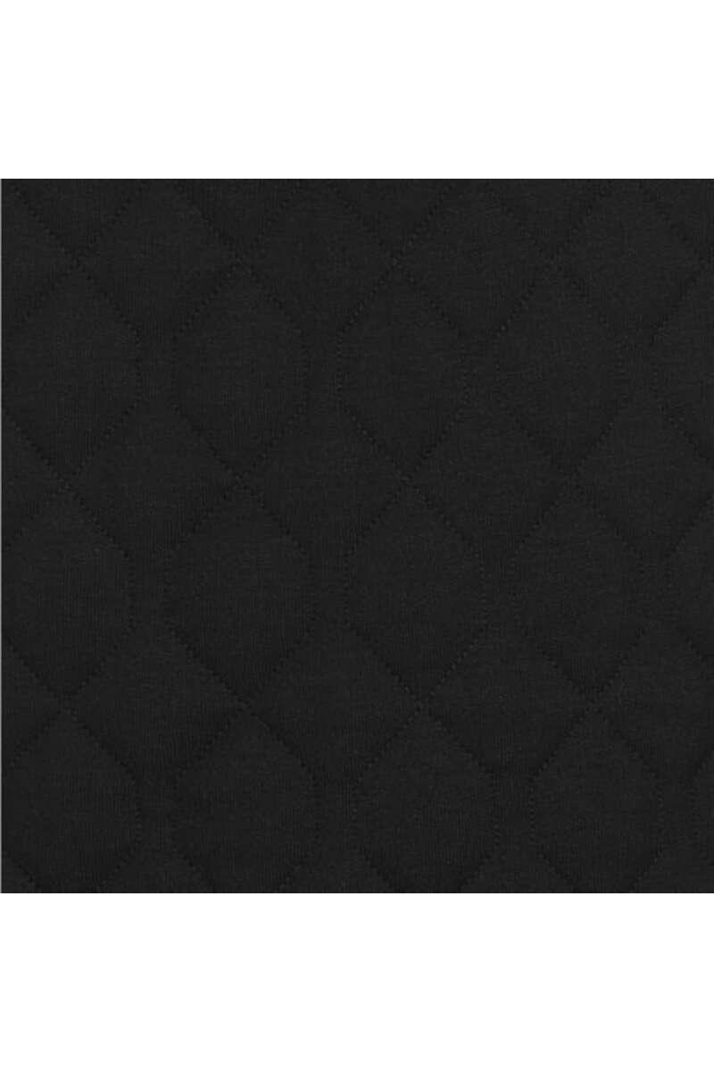 TRIGEMA Comfort Fit Sweatjacke Stehkragen schwarz, einfarbig M