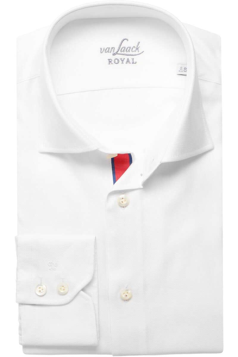 Van Laack Slim Fit Hemd weiss, Einfarbig 45 - XXL