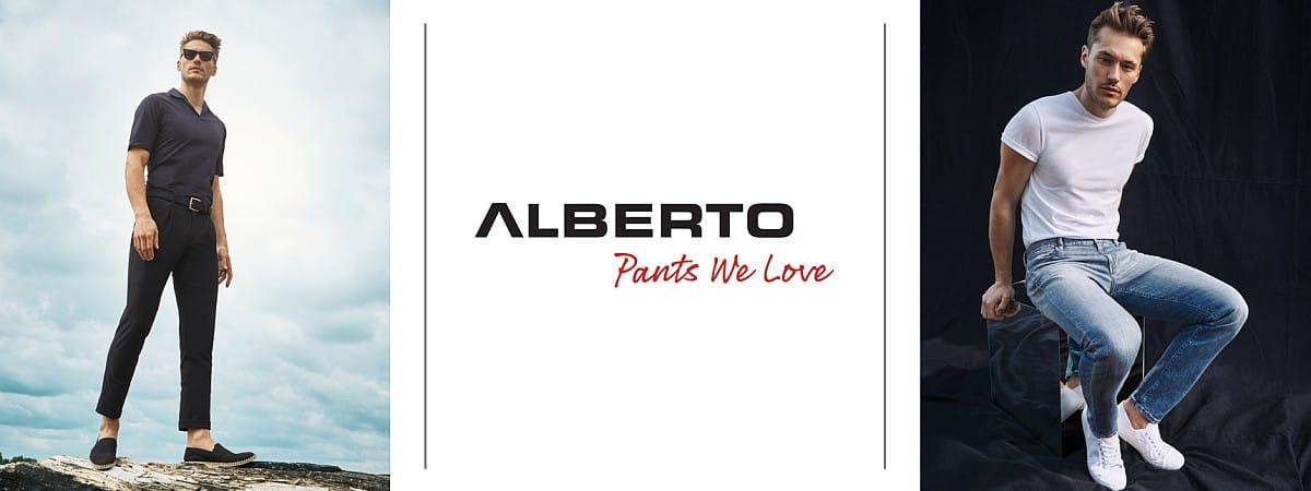 Alberto Hosen für Herren Mood