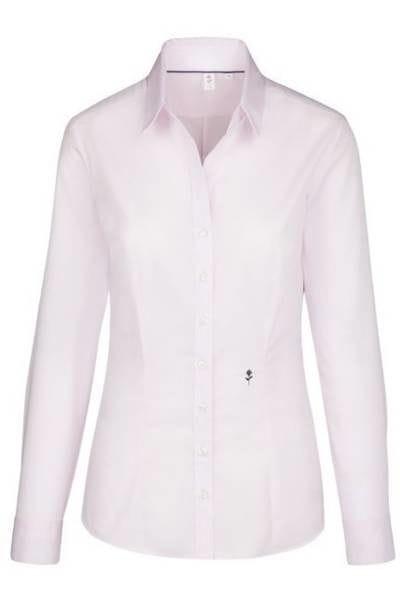 Seidensticker Bluse Slim Fit - rosa , Einfarbig