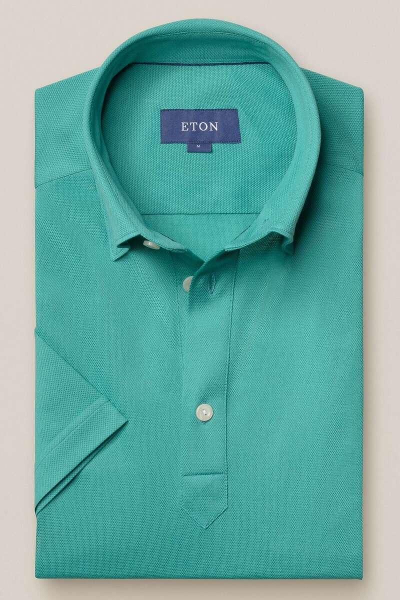 ETON Contemporary Fit Poloshirt jade, Einfarbig M