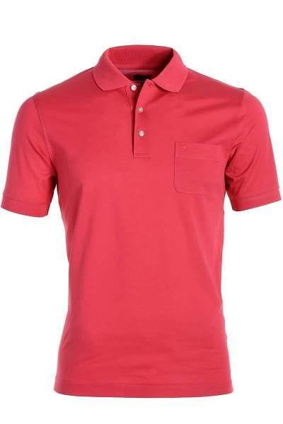 Olymp Modern Fit Poloshirt rost, Einfarbig