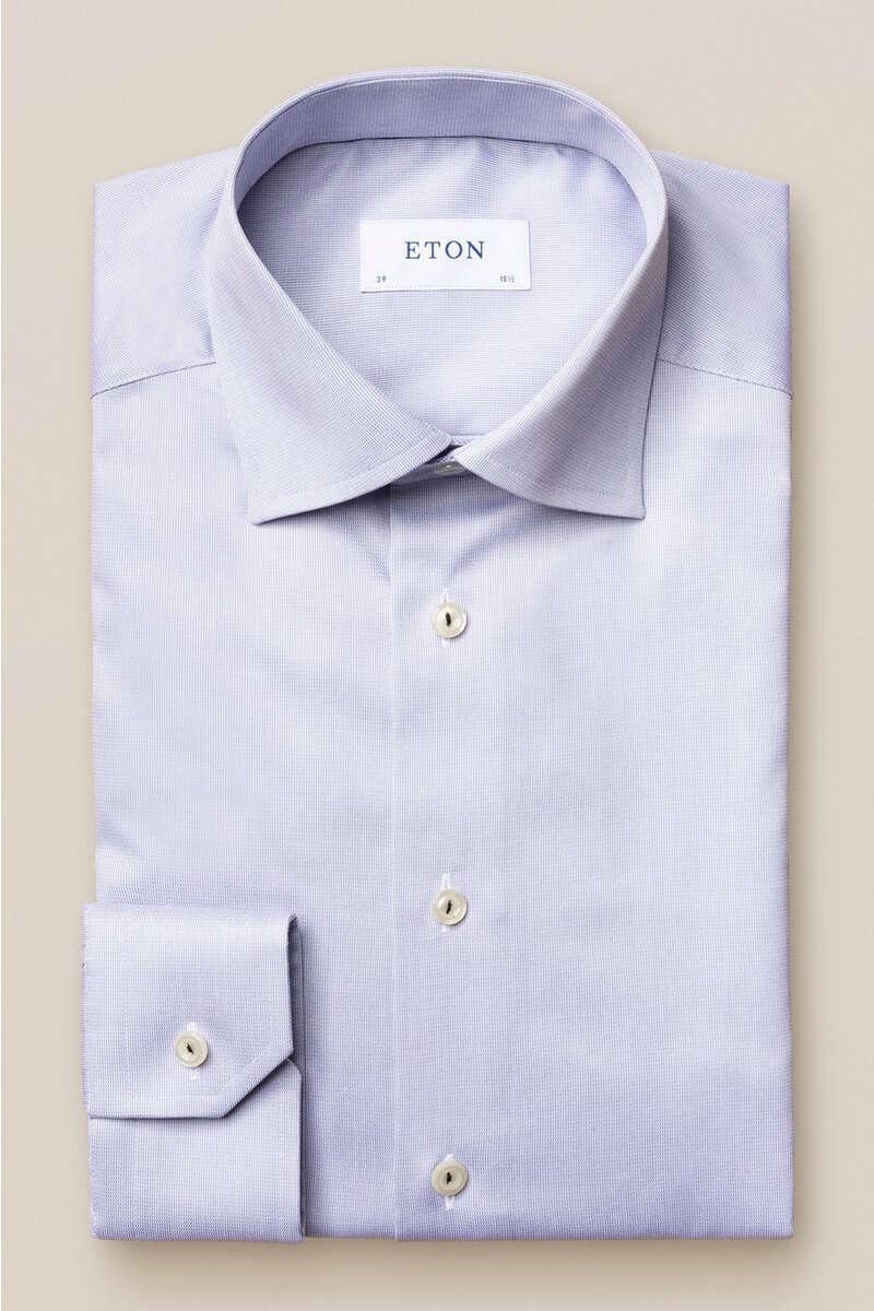 ETON Contemporary Fit Hemd hellgrau, Einfarbig 43 - XL