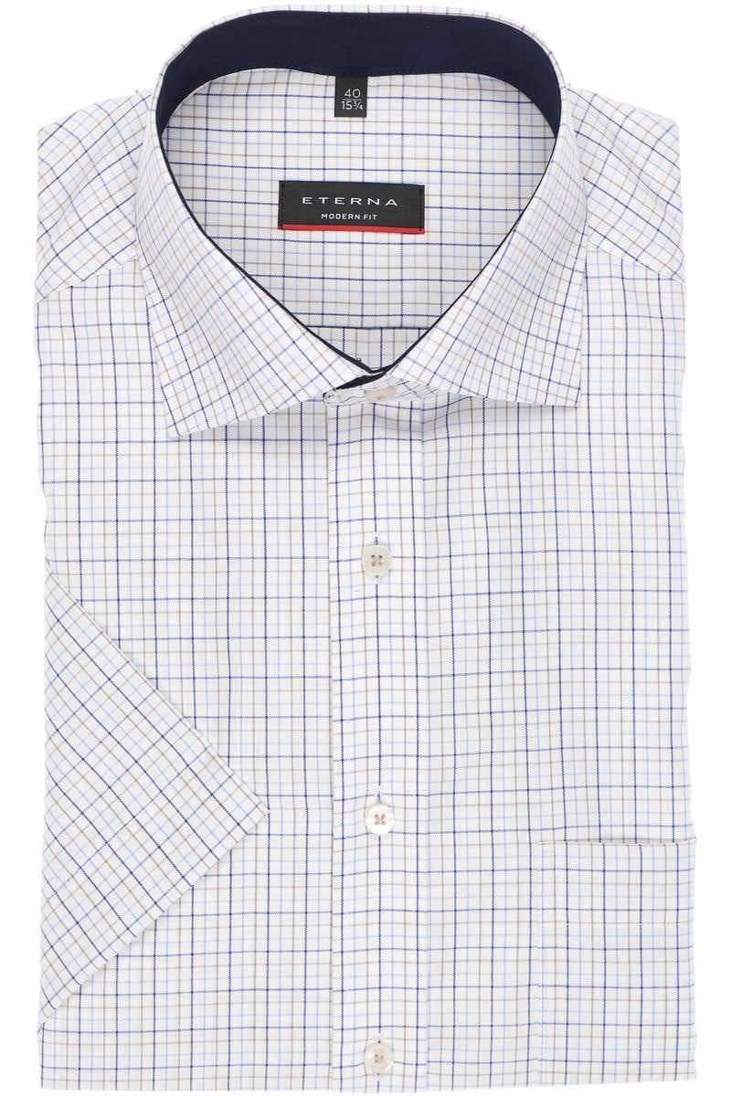 Eterna Regular Fit Business Hemd aus Oxford Royalblau