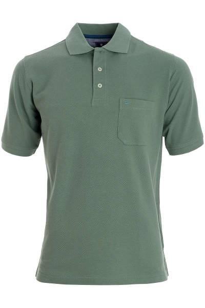 Redmond Casual Poloshirt hellgrün, Einfarbig
