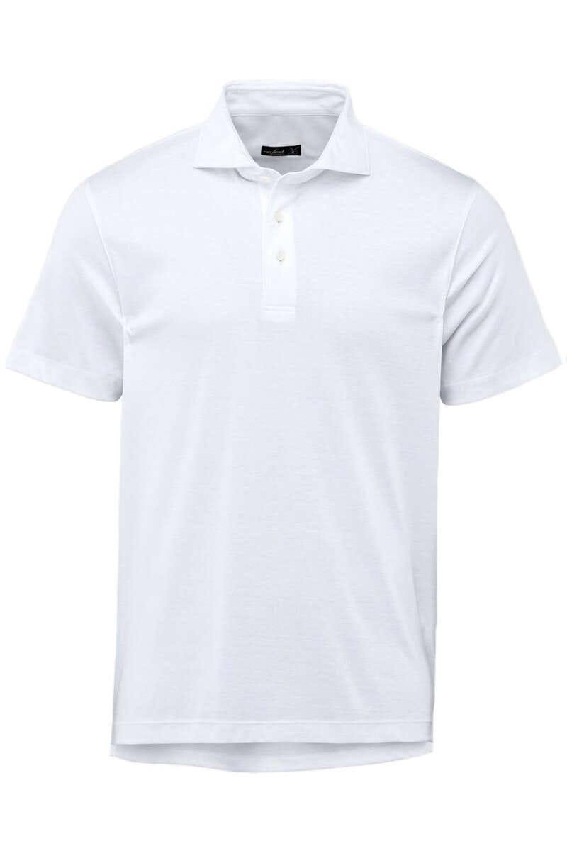 van Laack Tailor Fit Poloshirt weiss, Einfarbig M
