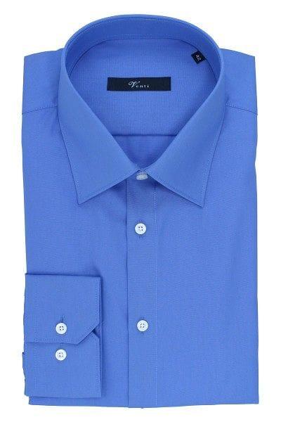 Venti Hemd - Modern Fit - blau, Einfarbig