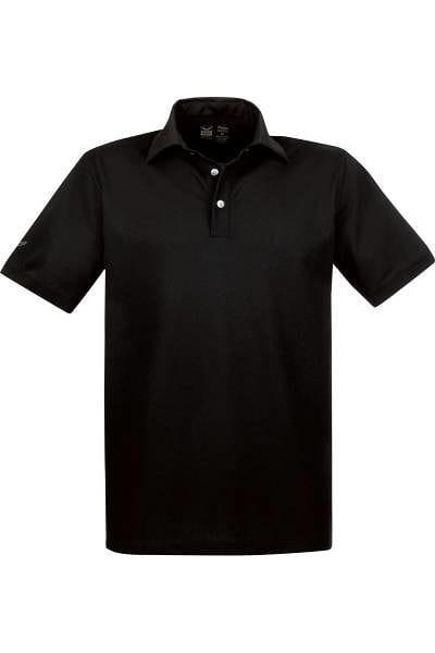 TRIGEMA Poloshirt - Comfort Fit - schwarz, Einfarbig