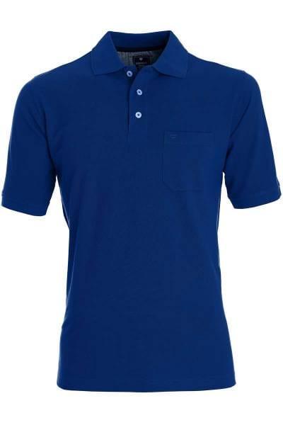 Redmond Casual Poloshirt dunkelblau, Einfarbig
